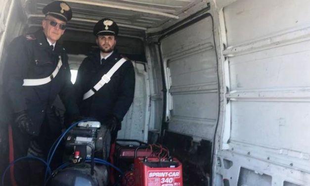 Furti di rame e materiali pesanti nell'alessandrino: arrestato dai Carabinieri di Cassano Spinola cittadino di origini albanesi