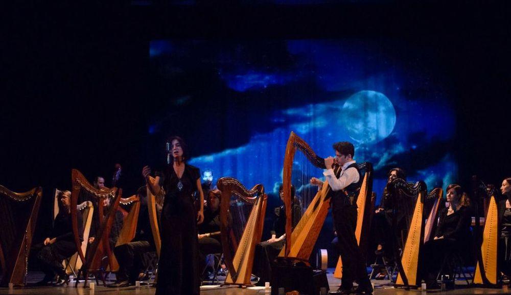 La Celtic Harp Orchestra al teatro Civico sabato 18 gennaio 2020