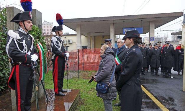 A Novi Ligure commemorato il 49° Anniversario dalla morte di tre Carabinieri uccisi nel corso di una sparatoria