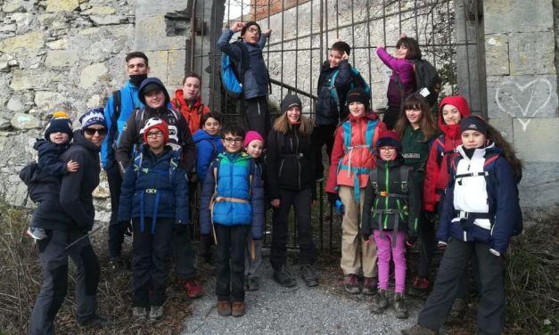 Successo per la prima escursione dei giovani alpinisti del Cai di Alessandria