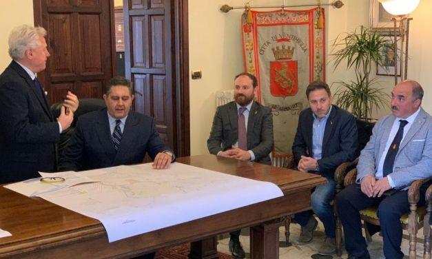 Piana a Ventimiglia con Toti per valorizzare il Ponente Ligure