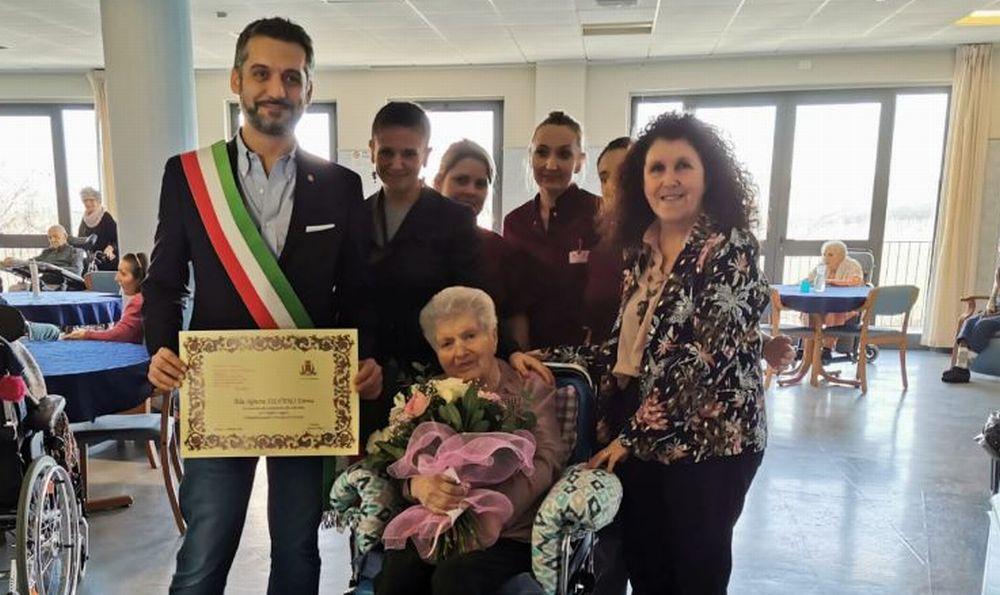 Il Comune di Tortona ha festeggiato due cittadini che hanno compiuto un secolo di vita