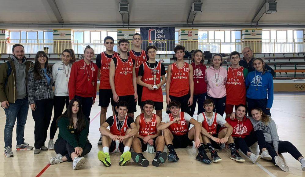I giovani del Marconi di Tortona vincono nel basket