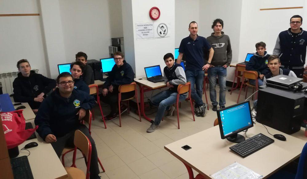 Un successo gli incontri al Polo tecnologico imperiese con gli studenti del Golfo Dianese