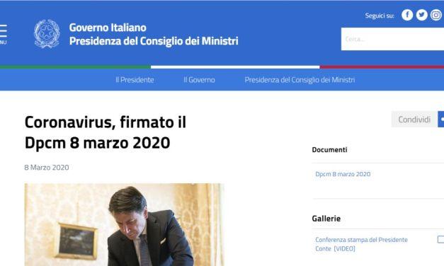 Il sito del Governo come quello di Oggi Cronaca: in tilt quando c'è un flusso anomalo di visitatori. Stessa cosa vale per il Virus