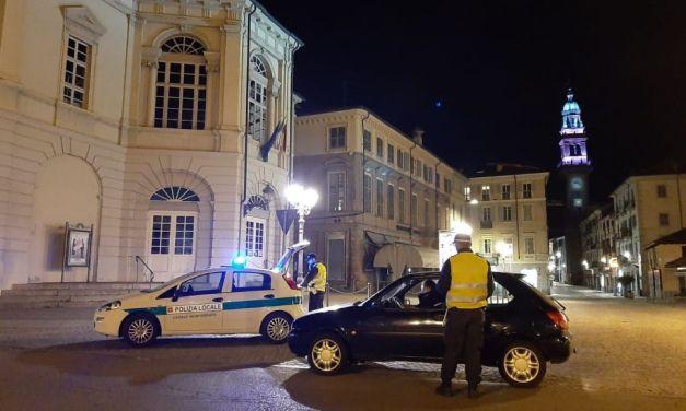 I Controlli dei Vigili Urbani di casale Monferrato nei confronti di chi esce senza motivo