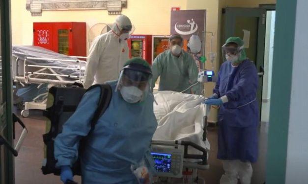 Medici e infermieri dell'ospedale di Tortona amorevolmente vicino ai malati. La storia e il grazie di tre figli