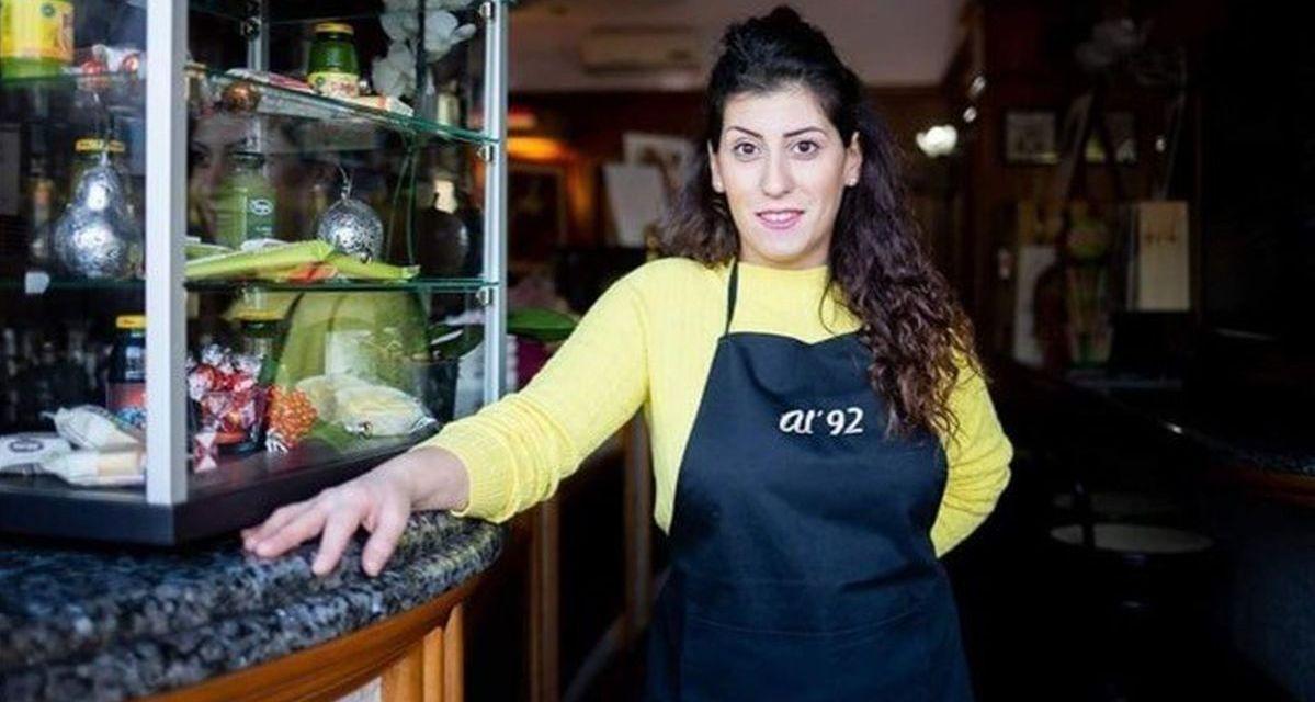 """Virginia D'Amico apre il bar """"Al '92"""" dopo quasi tre mesi di lockdown e offre la colazione gratis a tutti"""