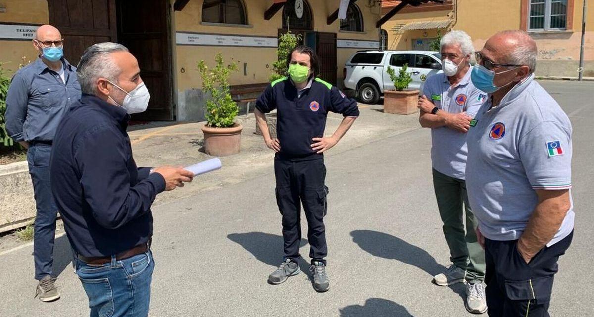 Il vice presidente della Regione in visita ad Acqui Terme