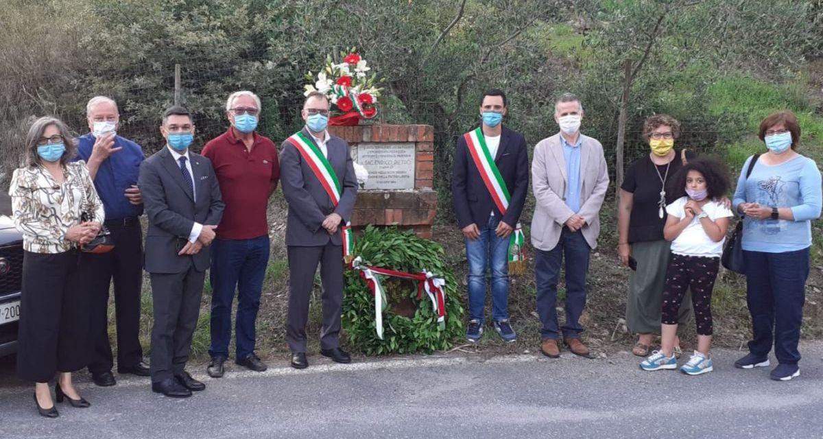 Commemorata a Molino del Fico l'uccisione di don Pietro Enrico