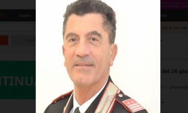 Mario Paolucci nuovo comandante dei Carabinieri di Ovada
