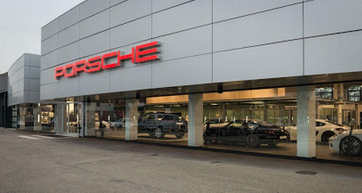 Incredibile ma vero, i ladri entrano alla Porsche di Tortona e non rubano nessun'auto ma solo un crick un orologio!