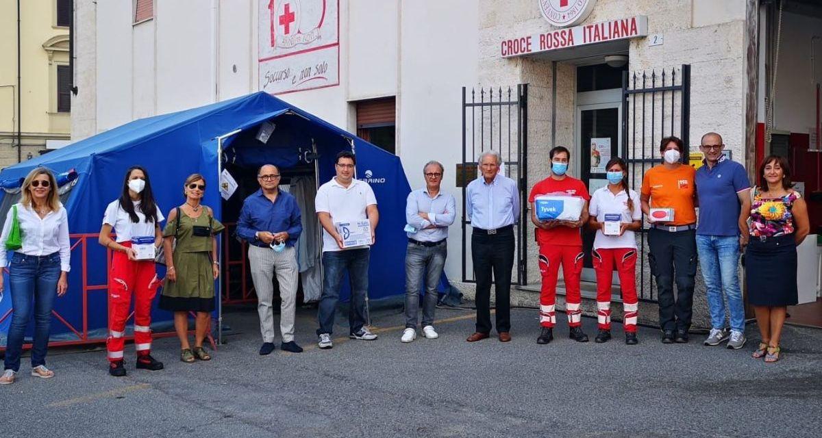 Rotary Club di Novi Ligure e Roquette, insieme per la Croce Rossa locale