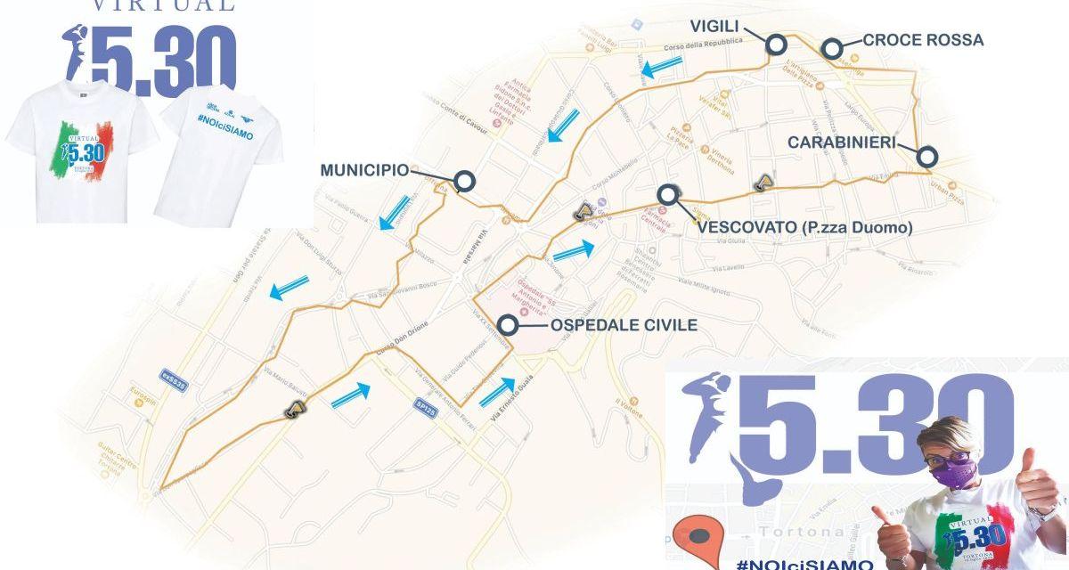 """Venerdì prossimo a Tortona torna la corsa alle primi luci dell'alba: """"Virtual 5:30"""""""