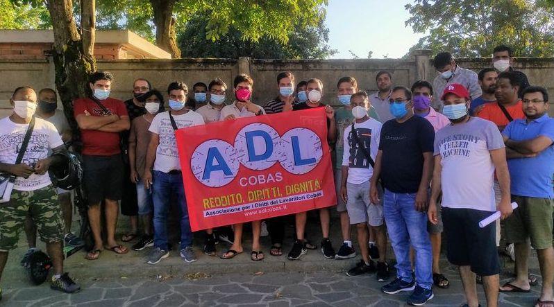 I lavoratori del magazzino Maxi Di di Spinetta Marengo aderiscono ad ADL Cobas