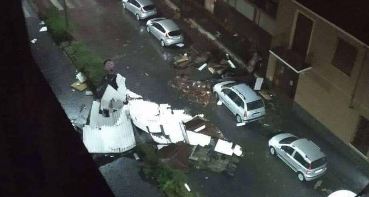 Cento alberi caduti ad Alessandria e tanti danni del temporale di ieri sera