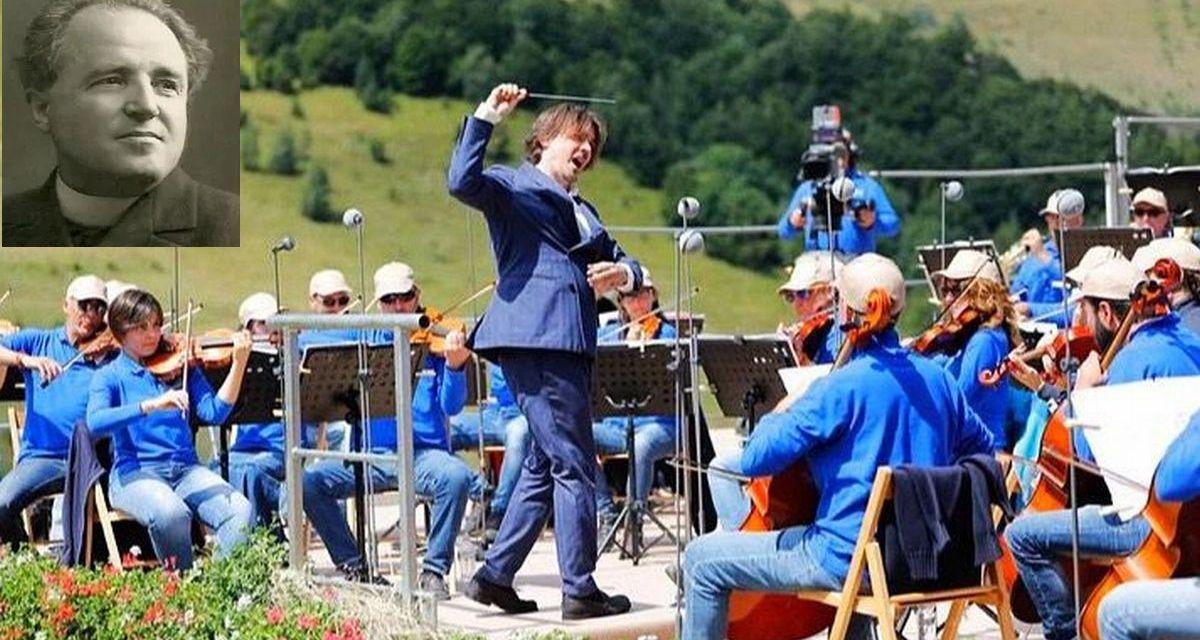 Lorenzo Perosi  protagonista  anche al 40° Concerto sinfonico di Ferragosto