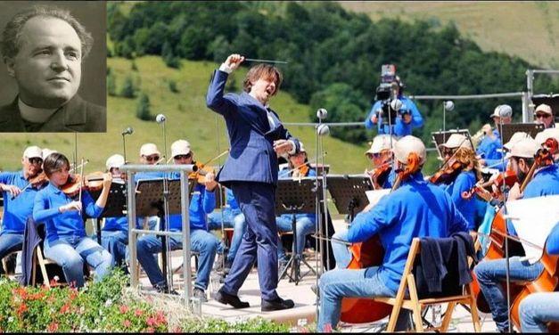Lorenzo Perosi protagonista al 40° Concerto sinfonico di Ferragosto a Garessio in diretta Rai con uno dei suoi brani più toccanti: 'Elegia'