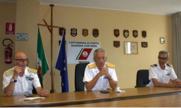 A Imperia la Visita del Comandante Generale delle Capitanerie di Porto