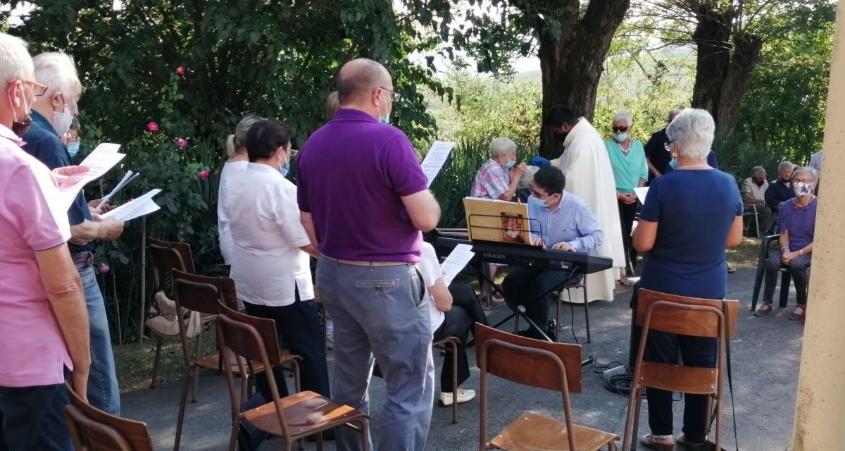 Celebrata la festa di Maria alla frazione Fonti di Villaromagnano