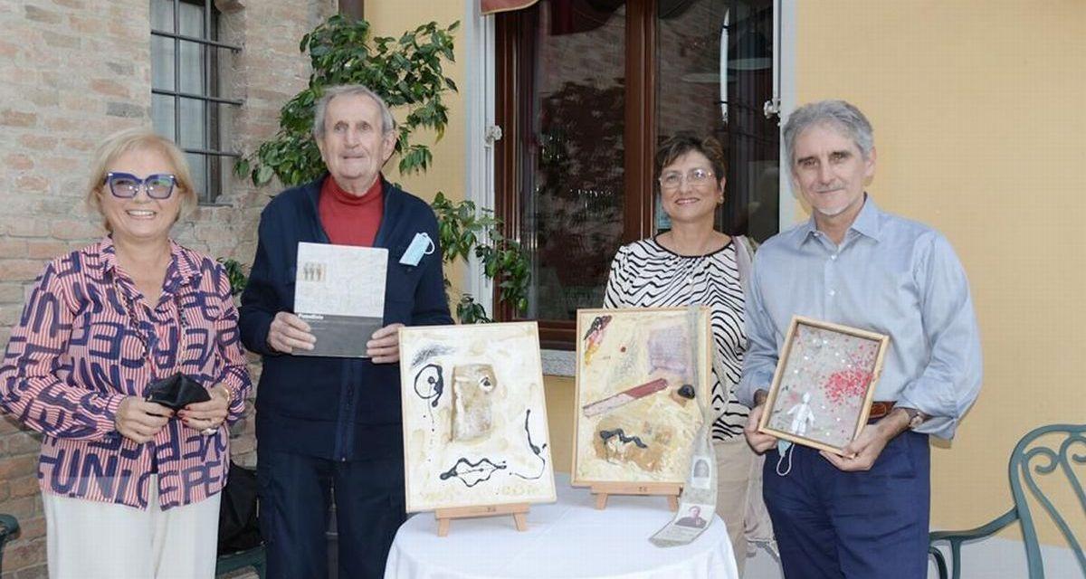 A Pontecurone l'incontro fra gli artisti di due generazioni è stato un successo