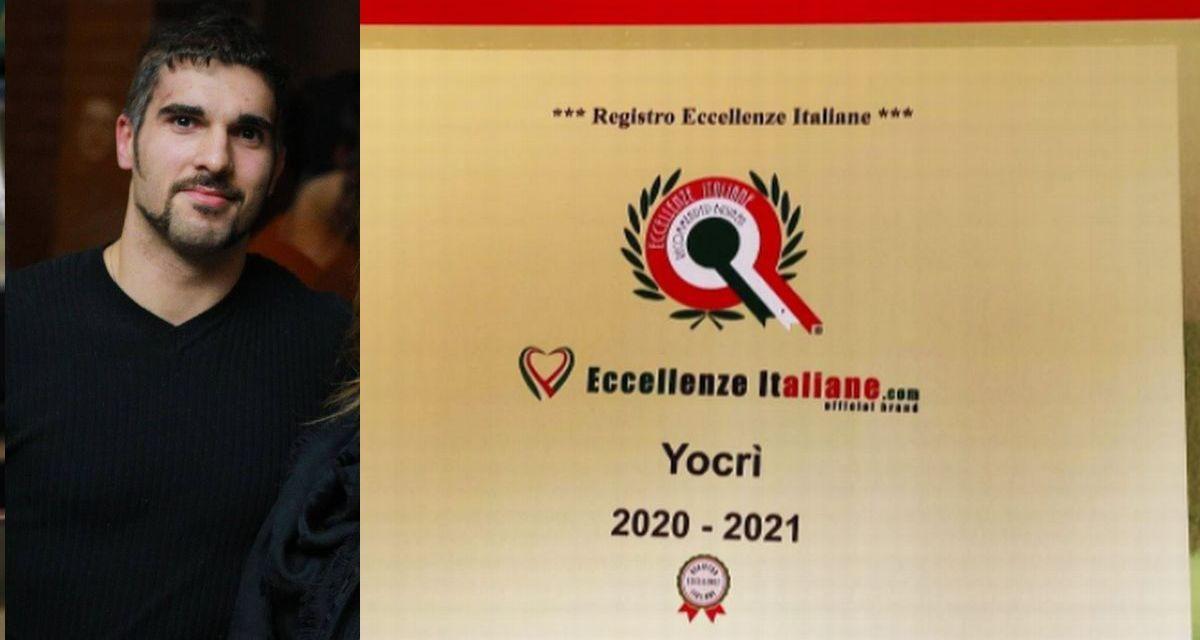 """Il tortonese Daniele Sciarabba insignito da """"Eccellenze Italiane"""" per la Yogurteria in piazza Malaspina"""