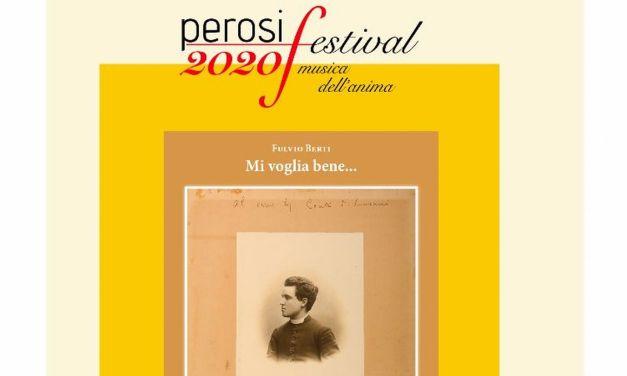 """Domenica al """"Ridotto"""" di Tortona la presentazione del volume """"Mi voglia bene…"""" su Lorenzo Perosi."""