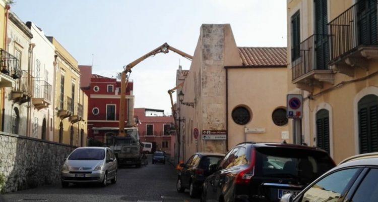 Milazzo Italia Nostra contesta lavori allinterno della chiesa del Rosario  Oggi Milazzo