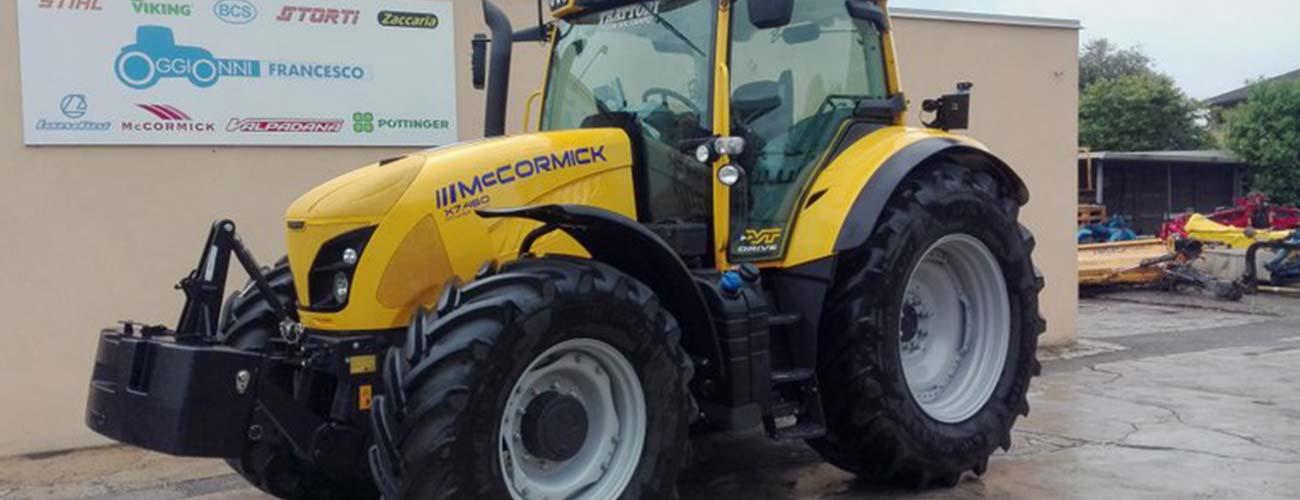 Vendita trattori usati nuovi macchine agricole