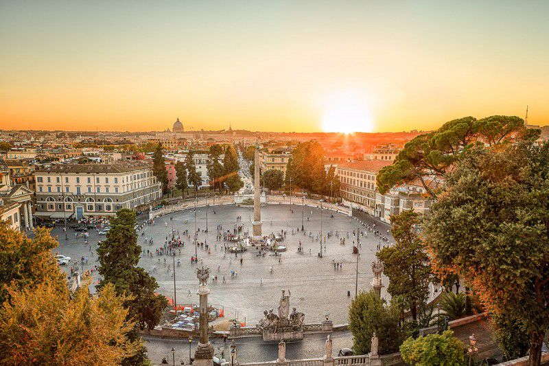 Pincio storia leggende e panorami su Roma Terrazza del