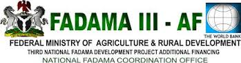 Federal Government of Nigeria Fadama III Fresh Graduate & Women Agro-preneur Support Programme 2017