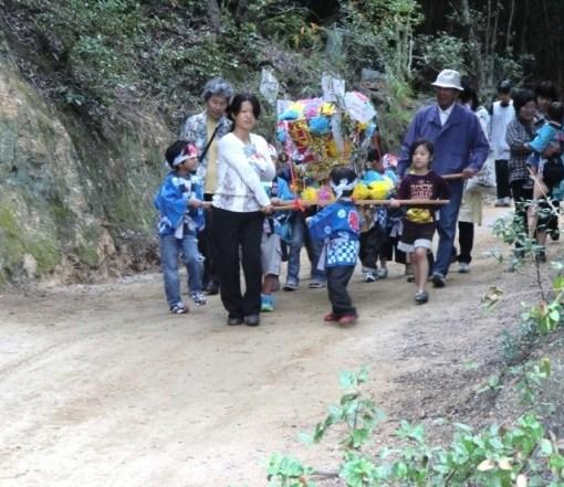 Teshima Matsuri Enfants
