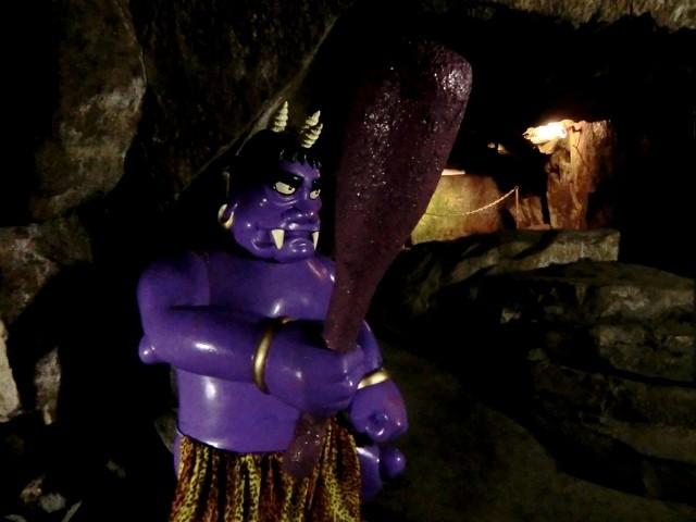 Oni dans la grotte de Megijima