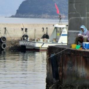 Pêcheur à Naoshima