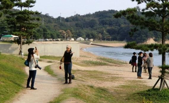Poses sur Naoshima
