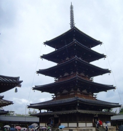 Pagode d'Hōryū-ji