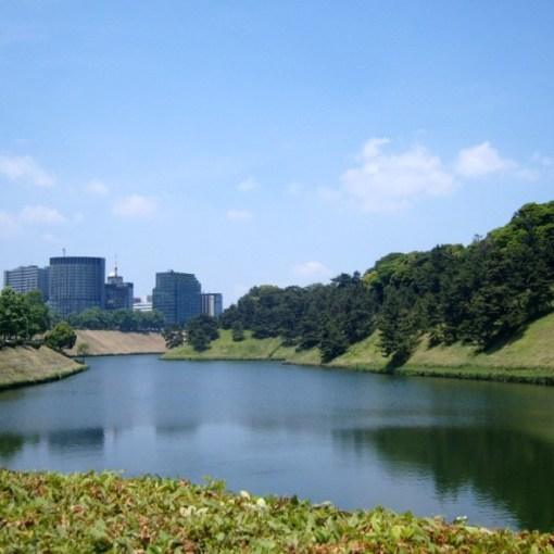 Douves Palais Impérial de Tokyo