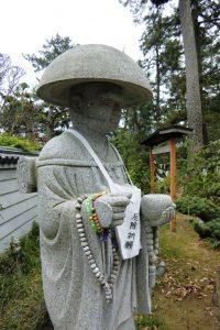 Sanuki Kokubunji - Statue Pelerin