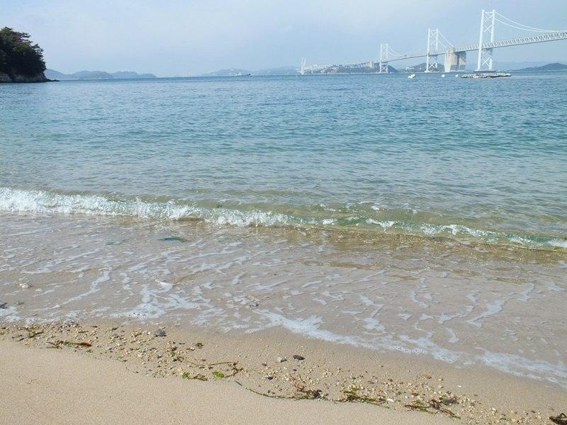 Plage nord sur Shamijima
