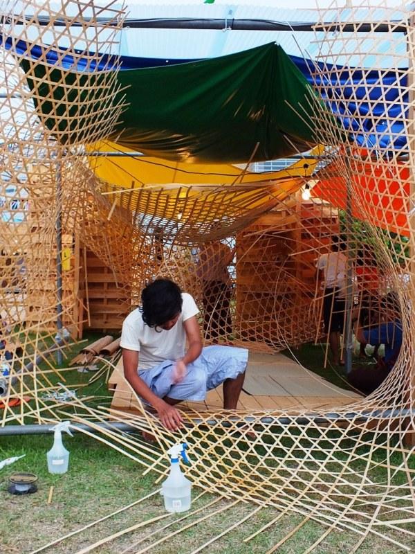 Bengal Island - 28 juillet 2013 - Weaving Weaving - 2