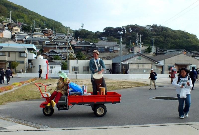 Setouchi Triennale - dernier jour sur Ogijima - 01