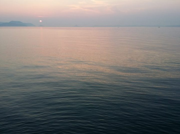 Mer Interieure de Seto Crepuscule