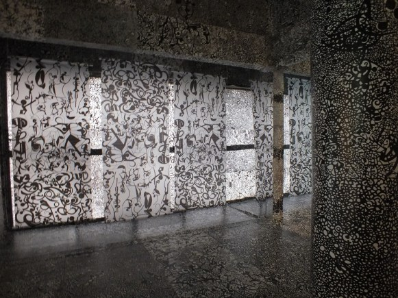 8 - Kaleidoscope Black and White