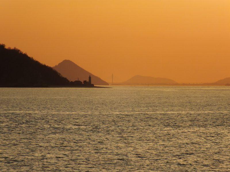 50 - Coucher de Soleil sur la Mer Intérieure de Seto
