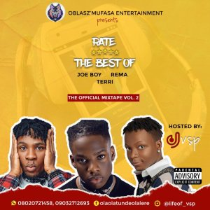 [GROOVES MIXTAPE]: DJ VSP – BEST OF JOE BOY X REMA X TERRI