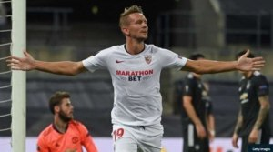 BREAKING NEWS!! Sevilla Knock Man United Out Of Europa League (Watch Highlight)
