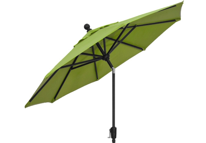 7 foot lime green market umbrella by treasure garden