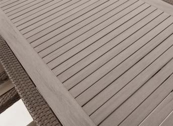 Table De Jardin Ou Patio Carre Nico 8 Avec Surface En