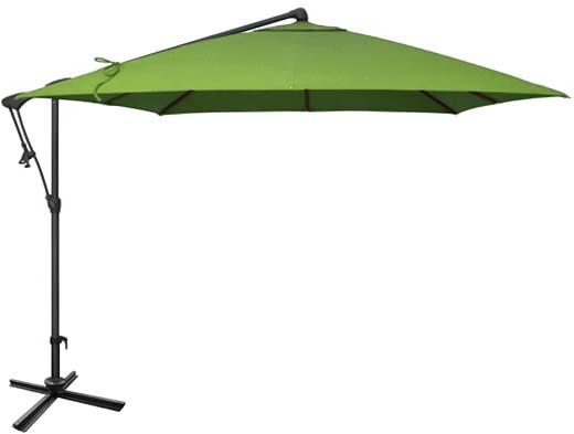 Parasol De Jardin Vert Carr Ogni