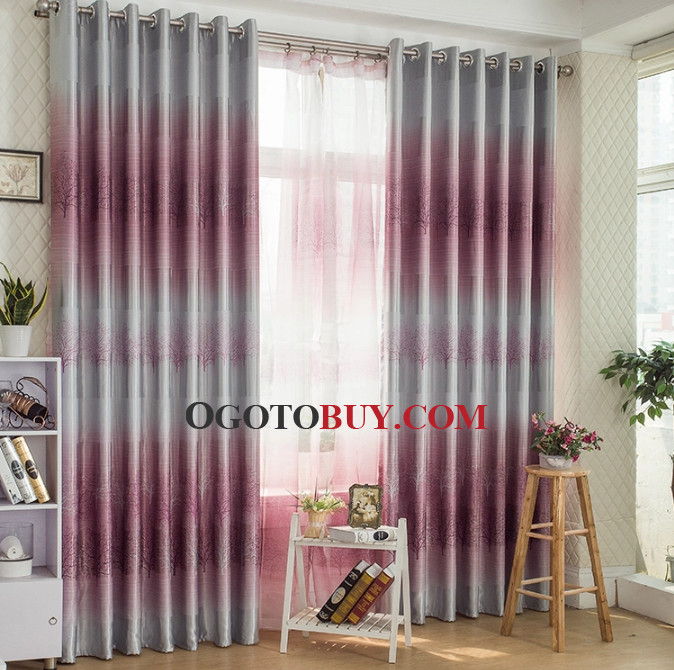Blackout Natural Scenery Energy Saving Buy Curtains Online Buy
